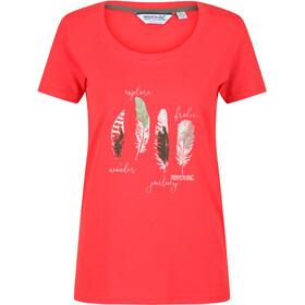 Regatta Filandra IV T-shirt Damer, rød